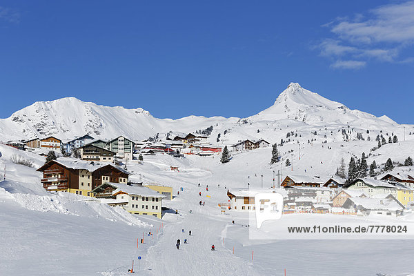 Obertauern with Mt Seekarspitz or Mt Seekarspitze