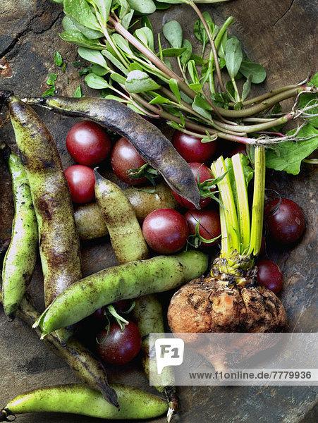 Frische  Gemüse  Tisch