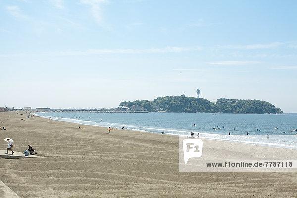 The beach in Shonan