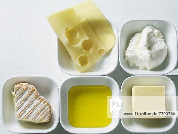 Stilleben mit Milchprodukten Stilleben mit Milchprodukten