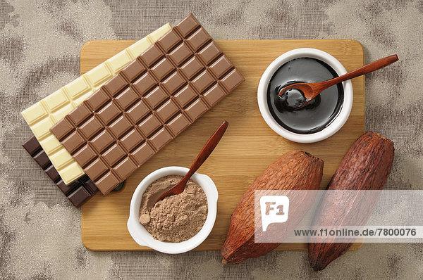 über  Vielfalt  Schokolade  Ansicht