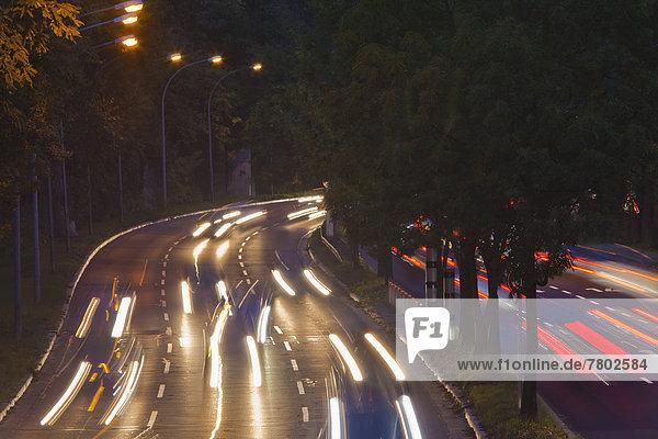 Blitzampel  Rotlichtüberwachung  stationäre Verkehrsüberwachung in der Innenstadt