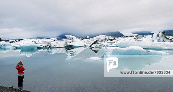 Eisberge auf dem Jökulsarlon Gletschersee
