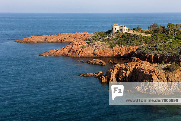 House by the sea  bay in the Esterel region
