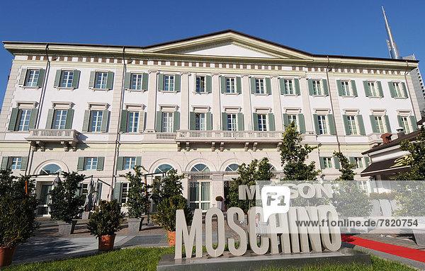 Europa  lombardei  Mailand  Hotel maison moschino