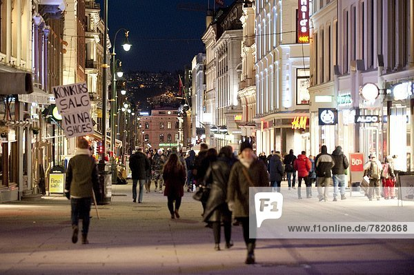 Oslo Hauptstadt Europa Norwegen