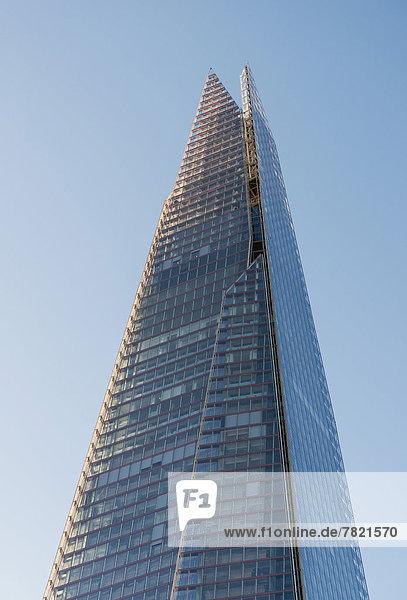 '''The Shard''  95-stöckiges Hochhaus  von Renzo Piano entworfen'