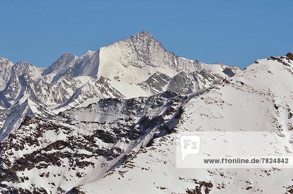Berg  Berggipfel  Gipfel  Spitze  Spitzen  über  Alpen  Urlaub