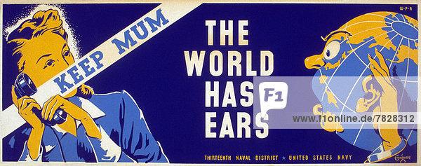 Vereinigte Staaten von Amerika  USA  Frau  Korb  Gemüse  Produktion  Werbung  Poster  Krieg  amerikanisch  Zweiter Weltkrieg  II.