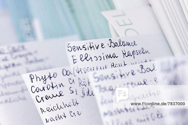 Apothekerhinweise für homöopathische Balsame