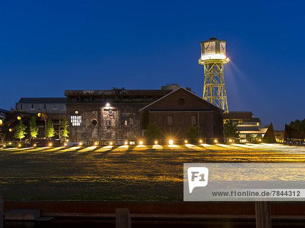 Germany  North Rhine Westphalia  Bochum View of Centennial Hall with tower