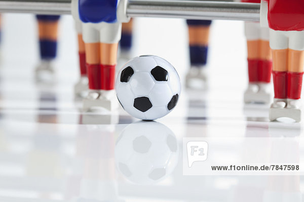 Figurines of table football