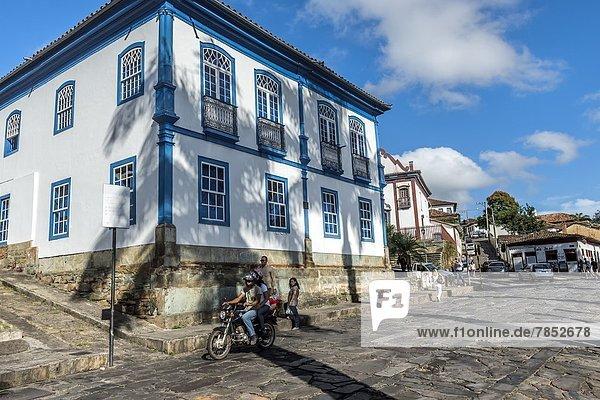 Diamantina  UNESCO World Heritage Site  Minas Gerais  Brazil  South America