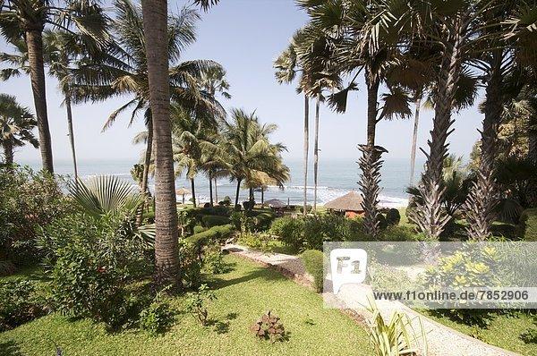 Westafrika  zwischen  inmitten  mitten  Urlaub  Afrika  Gambia