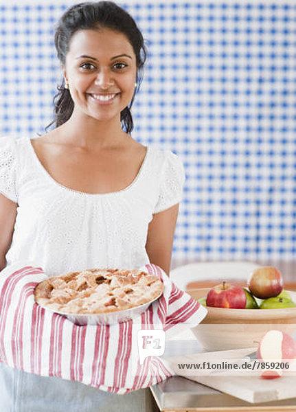 Frische  Apfel  gebacken