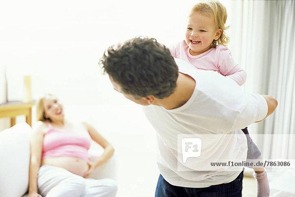 Frau Schwangerschaft