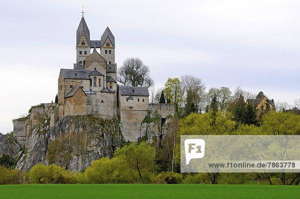 Kirche St. Lubentius  Limburg-Dietkirchen  Hessen  Deutschland