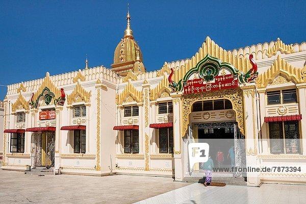 Halle  Myanmar  Buddha  Nan  Pagode