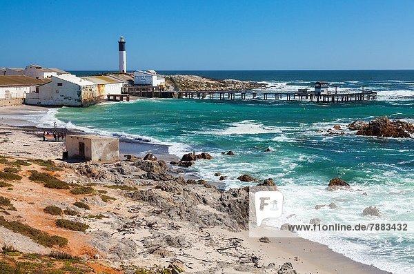 Südliches Afrika Südafrika Leuchtturm Western Cape Westkap Afrika