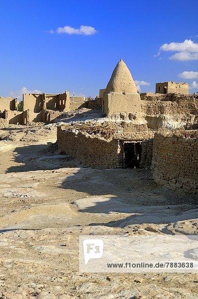 Friedhof  Ägypten  Oase  alt  Grabmal