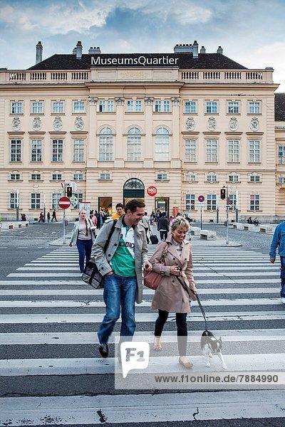 Wien  Hauptstadt  Europa  Österreich  MuseumsQuartier
