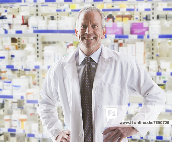 Europäer  lächeln  Pharmazie