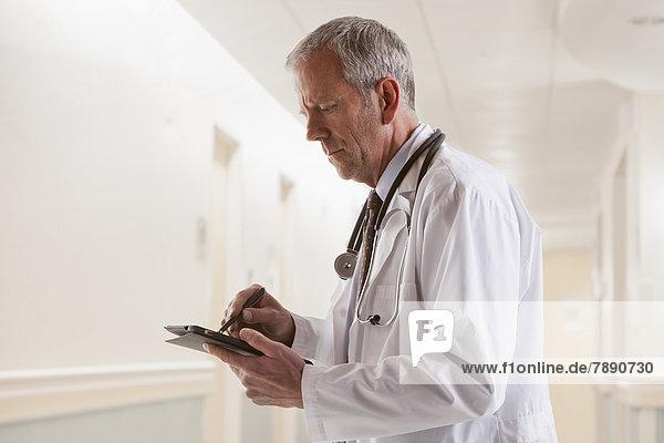 benutzen  Europäer  Computer  Arzt