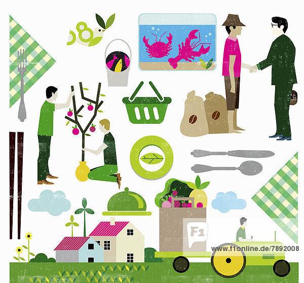 Umweltfreundliche Lebensmittelherstellung