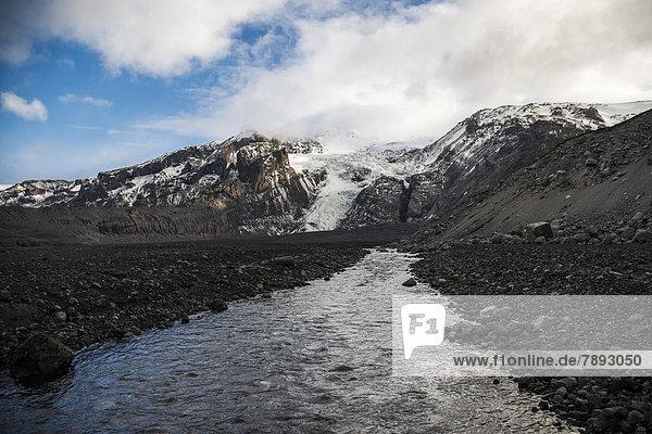Gletscherzunge des Eyafjallajökull