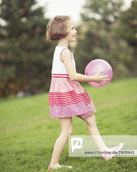 Spiel  lila  jung  Ball Spielzeug  Mädchen
