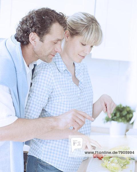 Gesundheit  Küche  Salat  Produktion