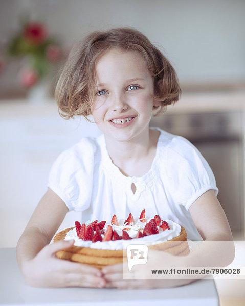 Kuchen  jung  Mädchen