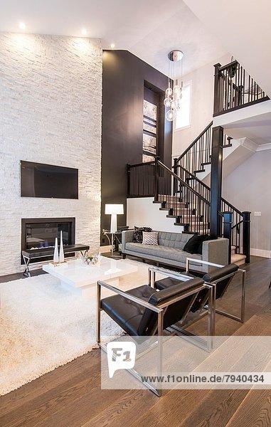 Wohnhaus Zimmer Wohnzimmer modern
