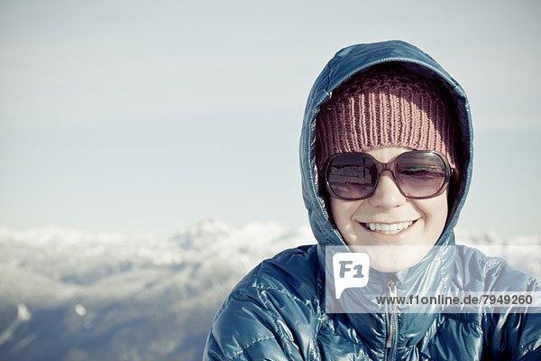 Schneeschuh  Berg  Mount Seymour