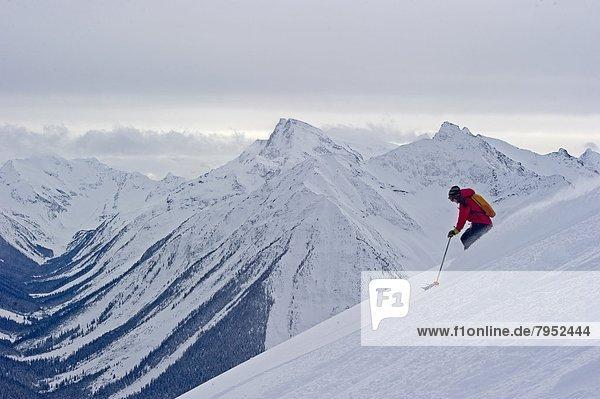 Frau  Ski  Paradies