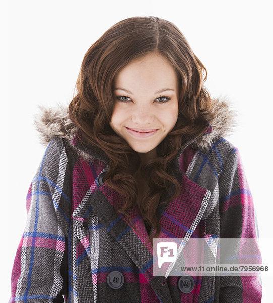 Portrait  lächeln  12-13 Jahre  12 bis 13 Jahre  Mädchen