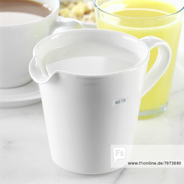 Saft  Kanne  Milch  Tee