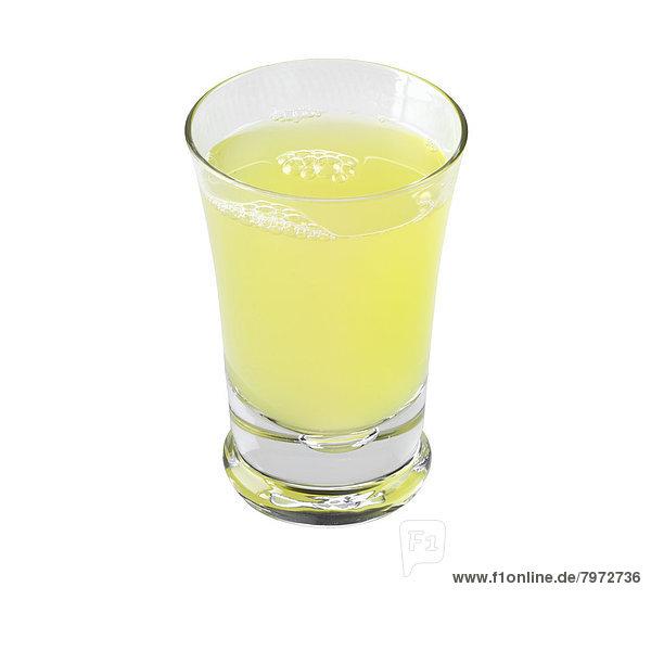 Glas  Saft  Ananas