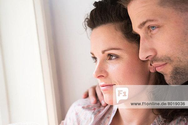 Nahaufnahme des heterosexuellen Paares