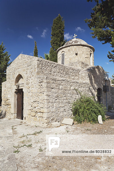 An old stone church building Paphos cyprus