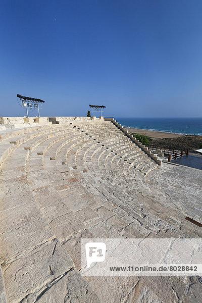 Kourion theatre Kourion cyprus