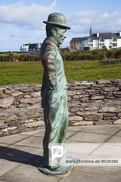 Charlie chaplin statue Waterville county kerry ireland