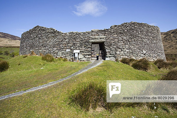 Staigue fort near castlecove County kerry ireland