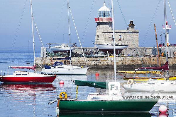 Hafen  Boot  Leuchtturm  Bake