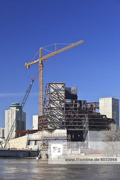 bauen  Mensch  unterhalb  Museum  Kanada  kanadisch  Manitoba  Winnipeg
