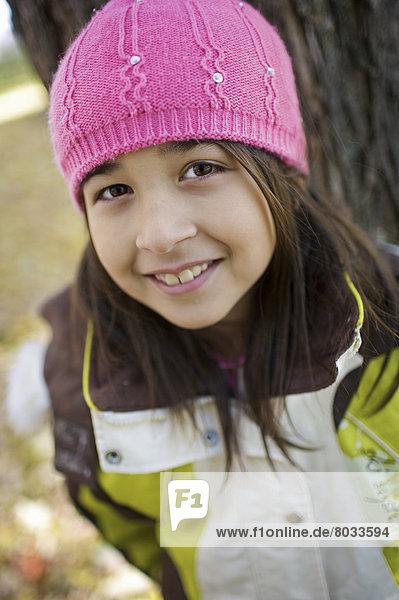 Middle Eastern Girl Outside Esl School  Guelph Ontario Canada