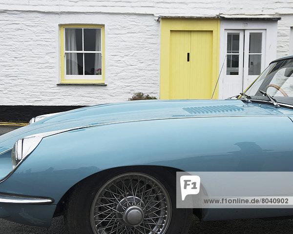 St Mawes Classic Car Festival  St Mawes  Cornwall  England  United Kingdom