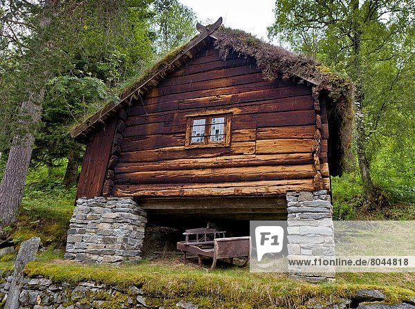 Log Cabin at the Staleheim Hotel  Norway.