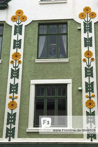 Art Nouveau (Jugendstil) architecture  Alesund  More og Romsdal  Norway