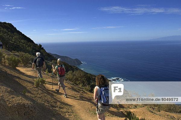 Kanaren Kanarische Inseln La Gomera Spanien